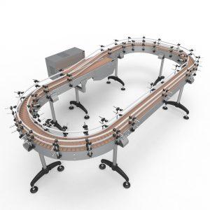 Transportadores de Malla Modular, Metálica y Charnelas