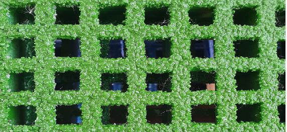Malla mini Verde Ral 6017